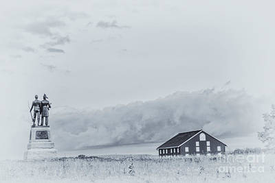 Images Of The Gettysburg 73rd New York Art Print by Randy Steele