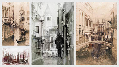 Photograph - Images Of Venice by Dorothy Berry-Lound