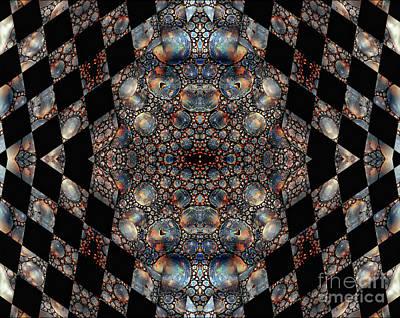 Mixed Media - Imaginary Checkmate by Jolanta Anna Karolska