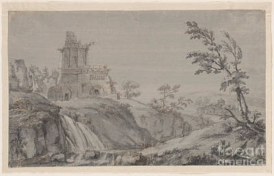 Imaginary Landscape With Classical Ruins Art Print
