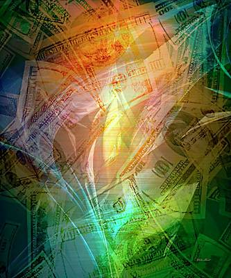 Digital Art - Imaginary Millionaires 2 Of 2  Without Text by Walter Herrit