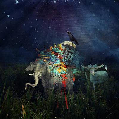 Digital Art - Imaginary Parade by Sue Masterson