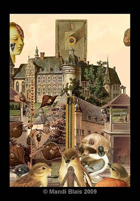 Imaginary Postcard  3 Art Print by Mandi Blais