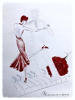 Imaginary Tango Art Print