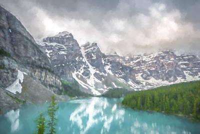 Lakes Digital Art - Imaginary Waters IIi by Jon Glaser