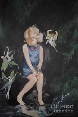 Jenna Thomas Wall Art - Painting - Imagination by Jennifer Thomas