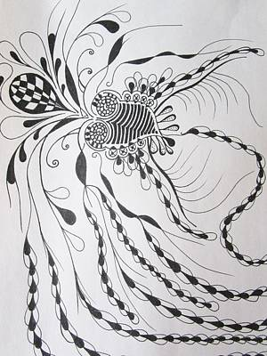 Passionate Drawing - Imagination by Rosita Larsson
