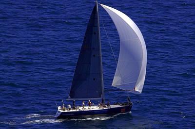 Photograph - Imagination  Sydney Sailboat by Miroslava Jurcik