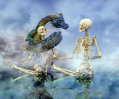 Surrealism Digital Art - Imaginative Meditation by Betsy Knapp