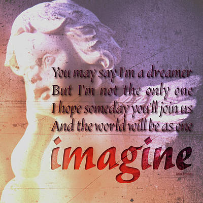 Photograph - Imagine by 2bhappy4ever