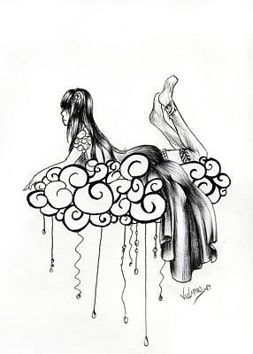 Imagine A Cloud Art Print