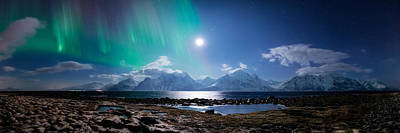 Reflections Photograph - Imagine Auroras by Tor-Ivar Naess