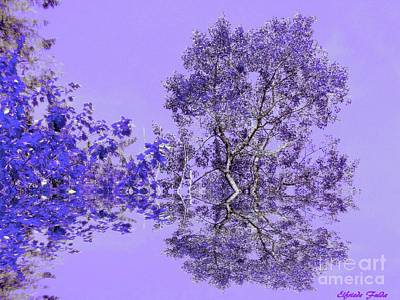 Mixed Media - Imagine by Elfriede Fulda