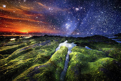 Landscapes Mixed Media - Imagine by Jacky Gerritsen