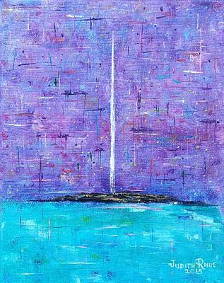 Painting - Imagine Peace Tower by Judith Rhue
