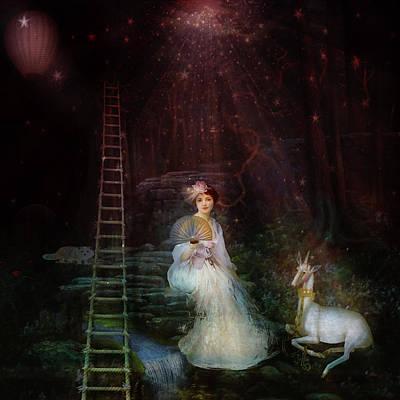 Digital Art - Imagine That by Sue Masterson
