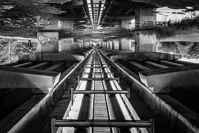 Photograph - Imaginery Tracks by Michael Niessen