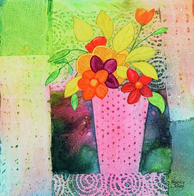 Painting - Imagining Spring by Nancy Jolley