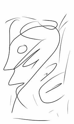Hans Tondereau Drawing - Imbecile by Hans Tondereau
