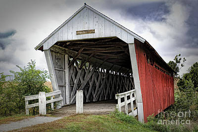 Photograph - Imes Covered Bridge by Lynn Sprowl