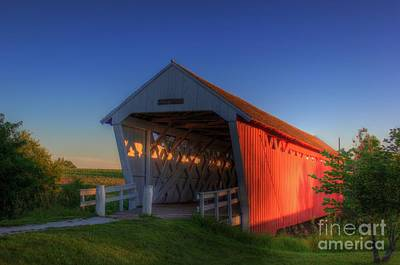 Photograph - Imes Covered Bridge by Thomas Danilovich