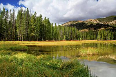 Photograph - Mains Ridge by Ed  Riche