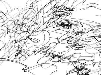 Drawing - Img_6 by John Emmett