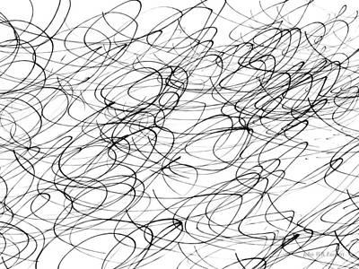 Drawing - Img_7 by John Emmett
