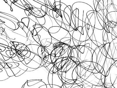 Drawing - Img_8 by John Emmett