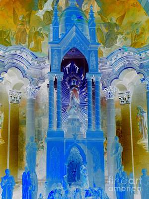 Photograph - Immaculate Blues by Frank Townsley