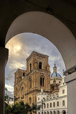 Photograph - Immaculate Conception Cathedral by Maria Coulson