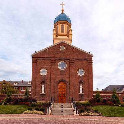 Photograph - Immaculate Conception Chapel - University Of Dayton by L O C