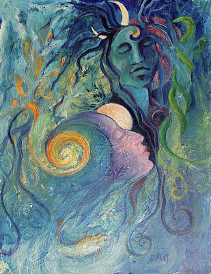 Painting - Immaculate Conception by Christie Michelsen