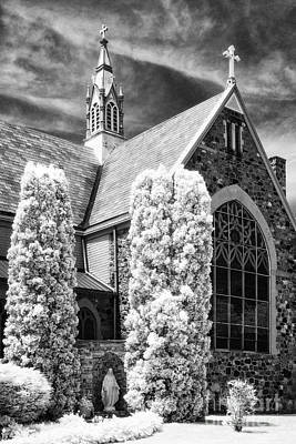 Immaculate Conception Church Art Print by Jeff Holbrook