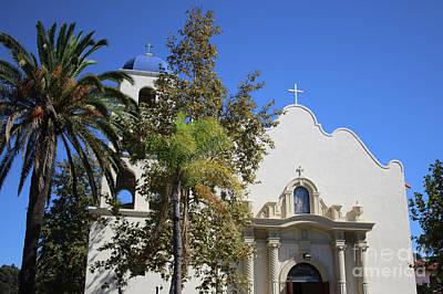 Southwest Church Photograph - Immaculate Conception Church San Diego by Carol Groenen
