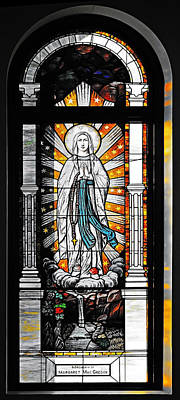 Immaculate Conception San Diego Art Print by Christine Till