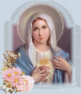 Photograph - Immaculate Heart Of Mary by Doug Norkum