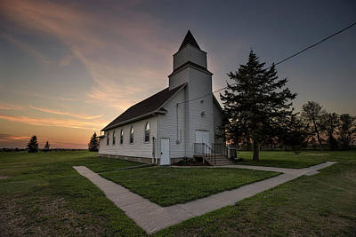 Photograph - Immanuel Church  by Aaron J Groen