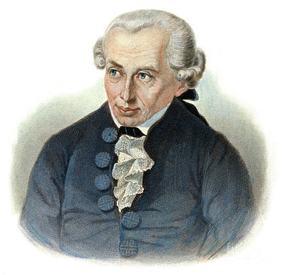 Drawing - Immanuel Kant, 1724-1804 by Granger