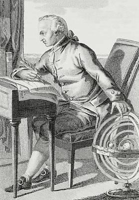 Chair Drawing - Immanuel Kant by German School