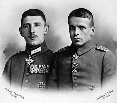 Photograph - Immelmann And Boelcke by Granger