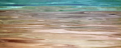 Art Print featuring the painting Immersed - Abstract Art by Jaison Cianelli
