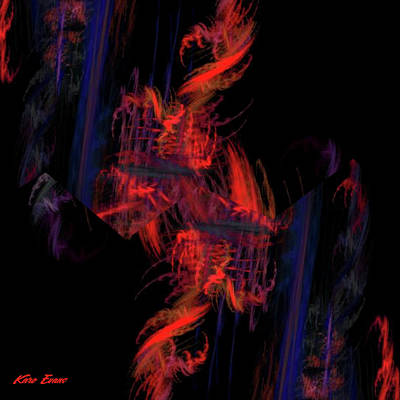 Digital Art - Immersion by Karo Evans