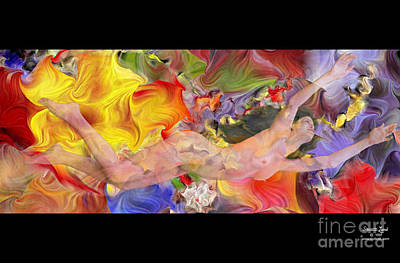 Freedom Mixed Media - Immersion by Stuart Land