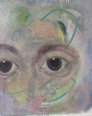 Painting - Immigrant Eyes by Laura Mychal