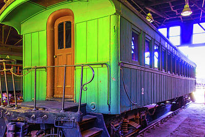Train Car Photograph - Immigrant Passenger Car by Garry Gay