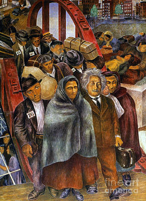 Immigrants, Nyc, 1937-38 Art Print by Granger