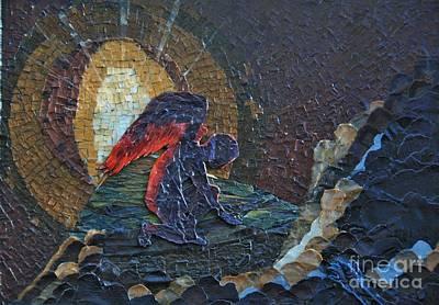 Mosaic Mixed Media - Immortal No Longer by Wendy Hackett