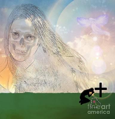 Digital Art - Immortality by Diamante Lavendar
