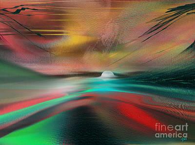 Digital Art - Impact 2 Series by Yul Olaivar